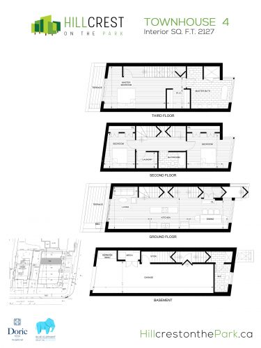 Hillcrest on the Park Floorplan - TH4